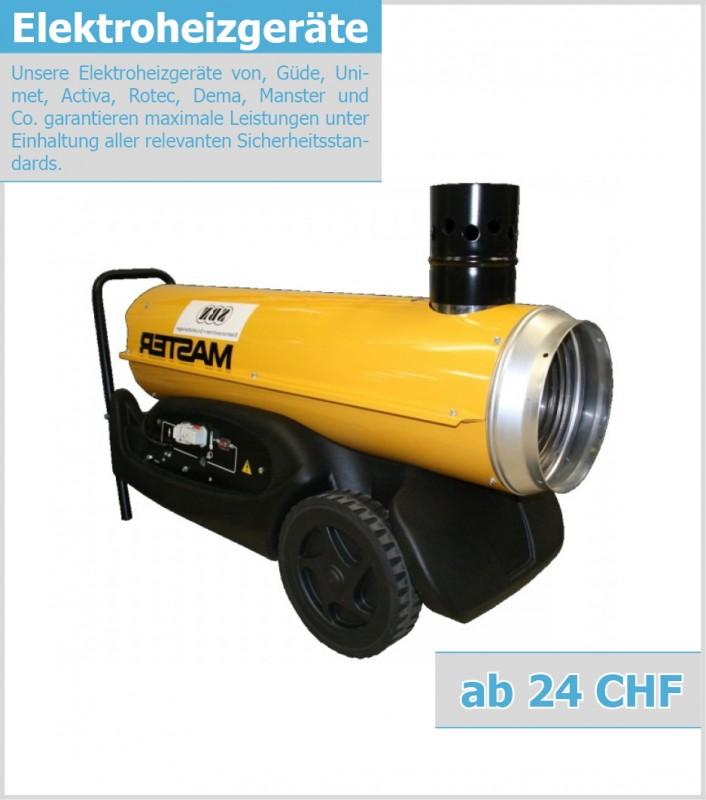 HF-15-400 Rotek Elektrischer Heizl/üfter mit 15 kW Heizleistung 400V